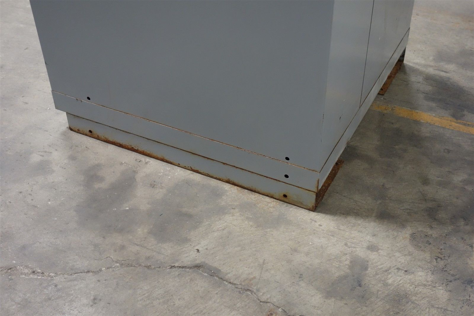 Used Lista 9 Drawer Modular Cabinet Industrial Tool