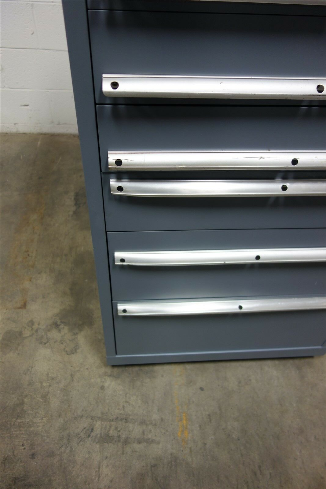 Used Lista 9 Drawer Cabinet 54 Tall Industrial Storage 1622